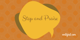 Stop and Praise